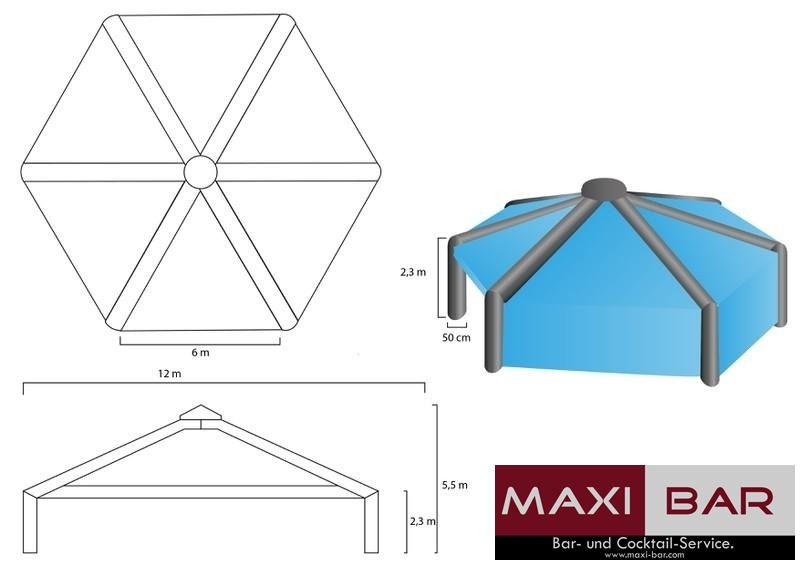 Maxi-Bar.com Party-Zelt